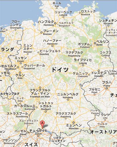 ドイツ地図